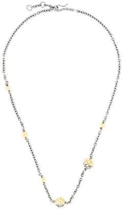 Bottega Veneta Intrecciato necklace