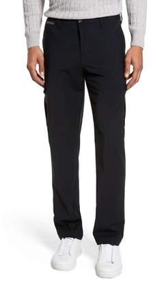 Eleventy Stretch Wool Cargo Trousers