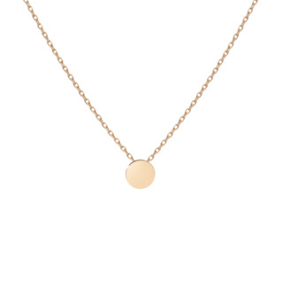 AUrate New York Mini Medallion Necklace