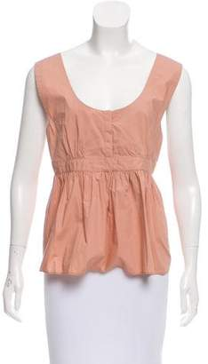 See by Chloe Sleeveless Pleated Top w/ Tags
