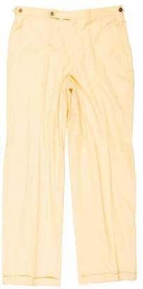 Bobby Jones Collection Cuffed Flat Front Pants