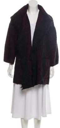 IRO Virgin Wool-Blend Donegal Cardigan
