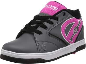 Heelys Kids Propel 2.0 Running Shoes, Black/Lilac/Pink/Confetti, 4 N US Big Kid