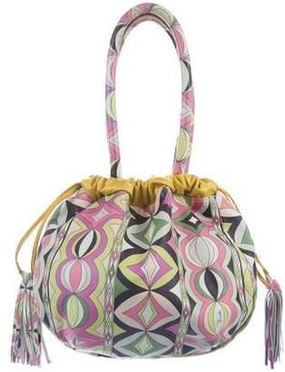 Emilio Pucci Printed Drawstring Bag