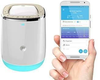 Motorola Smart Nursery Dream Machine Audio Baby Monitor with Lightshow Projector