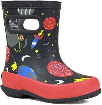 Bogs Skipper Space Print Rain Boot