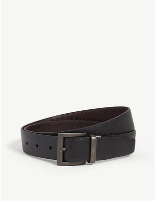 Prada Textured leather belt