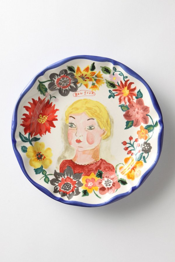 Petite Fille Plate