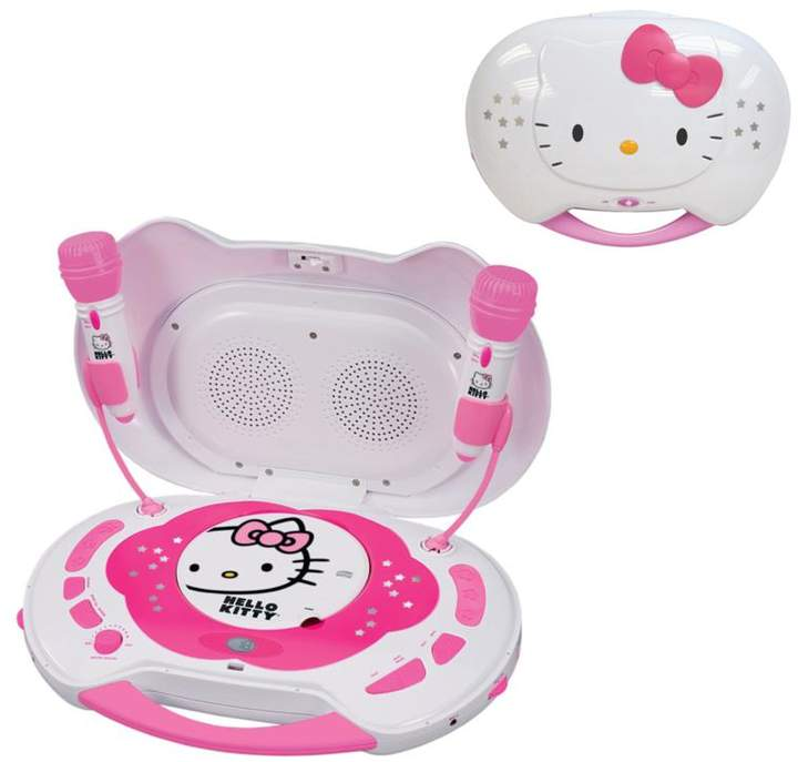 Hello Kitty Hello Kitty CD Karaoke System/CD Player