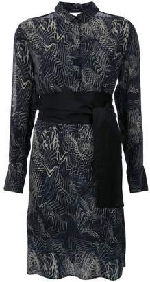 Tufi Duek printed shirt dress