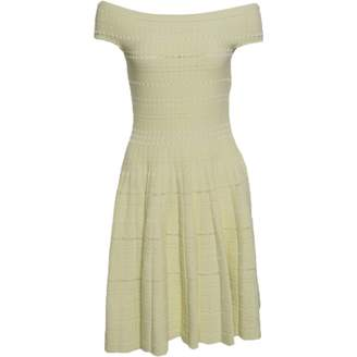 Alexander McQueen Yellow Dress for Women