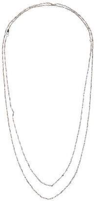 Mizuki 14K Beaded Long Necklace