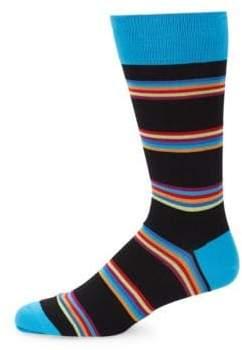 Bugatchi Bold Stripe Socks