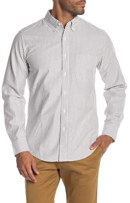 J.Crew J. Crew University Stripe Print Oxford Shirt