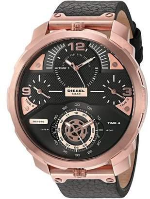 Diesel Machinus Leather Mens Watch DZ7380
