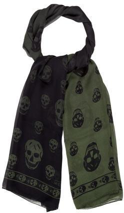 Alexander McQueenAlexander McQueen Silk Skull Scarf