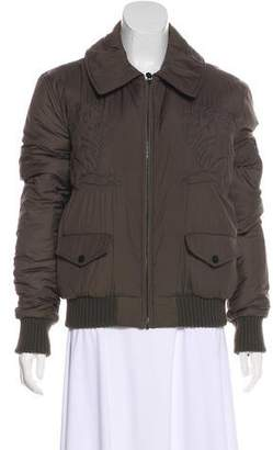 Chanel Embroidered Puffer Jacket