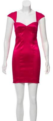 Torn By Ronny Kobo Satin Cocktail Dress w/ Tags