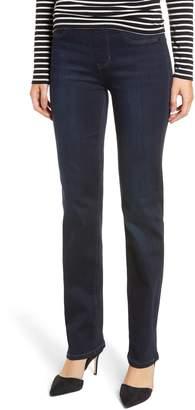 Liverpool Jillian Pull-On Straight Jeans