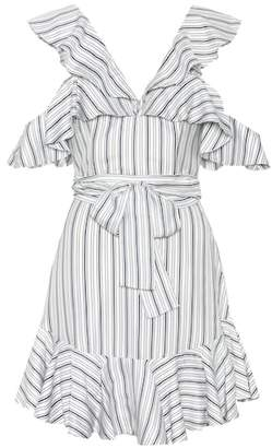 Zimmermann Painted Heart striped dress