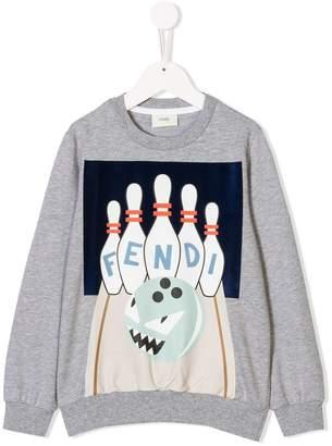 Fendi bowling sweatshirt