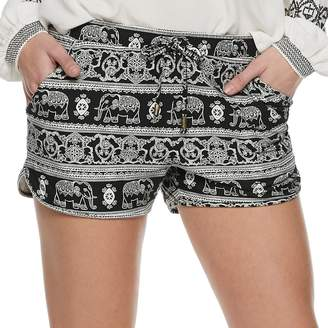 Mudd Juniors' Peached Soft Shorts