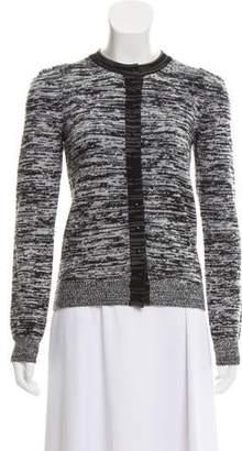 Stella McCartney Long Sleeve Wool Cardigan