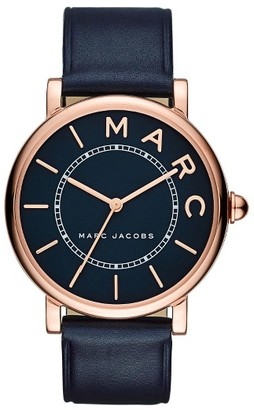 Women's Marc Jacobs Roxy Leather Strap Watch, 36Mm $175 thestylecure.com