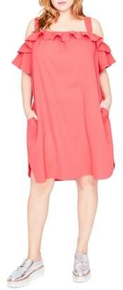 Rachel Roy Ruffle Edge Dress