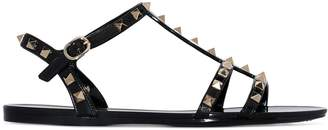 Valentino Rockstud jelly sandals