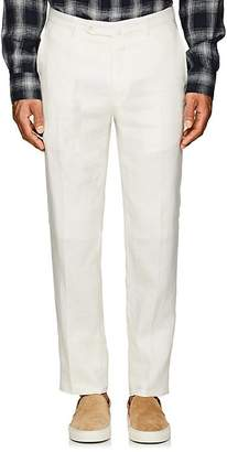 Incotex Men's M-Body Modern-Fit Linen Trousers