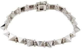 Anita Ko 14K Small Diamond Spike Bracelet