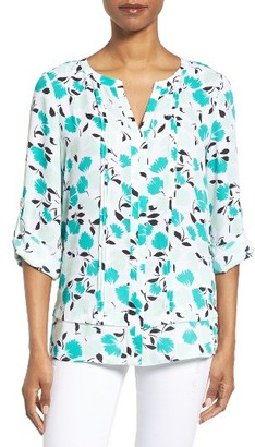 Women's Chaus Pintuck Blouse $69 thestylecure.com