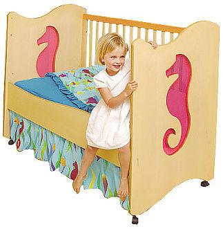 Room Magic Tropical Seas Convertible Crib/Toddler Bed