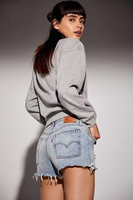 Levi's Frayed Denim Wedgie Short – Out Of The Blue