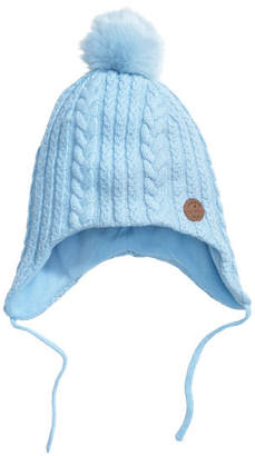 H&M Fleece-lined hat - Blue