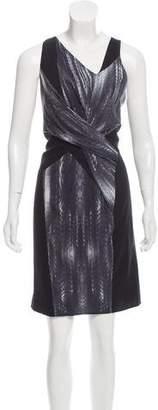 Helmut Lang Silk Sleeveless Dress