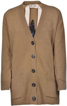 N°21 N.21 V-neck Cardigan