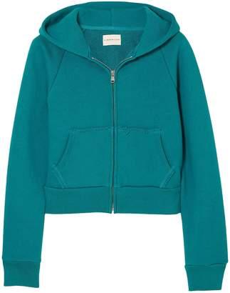 Simon Miller Burke Cotton-terry Hooded Sweatshirt