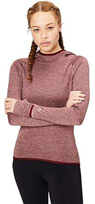 Core 10 Amazon Brand Women's Be Warm Thermal Fitted Run Hoodie (XS-XL