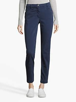 Betty Barclay Brushed Denim Straight Fit Jeans, Peacoat Blue