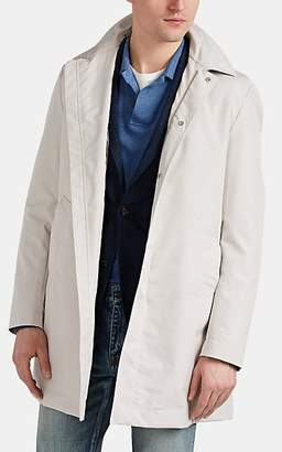 Eleventy Men's Tech-Fabric Trench Coat - Sand