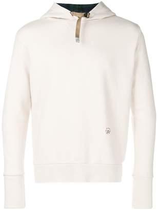 White Sand long sleeved hoodie