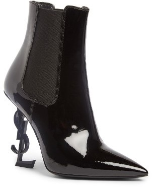 Women's Saint Laurent Opyum Ysl Bootie