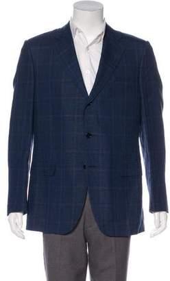 Caruso Linen & Silk Blazer