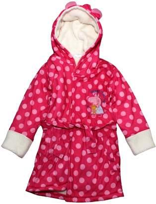 Peppa Pig Sleepy Time Coral Fleece Dressing Gown