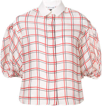 Dice Kayek checked blouse