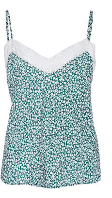 Veronica Beard Gil Lace Floral Cami