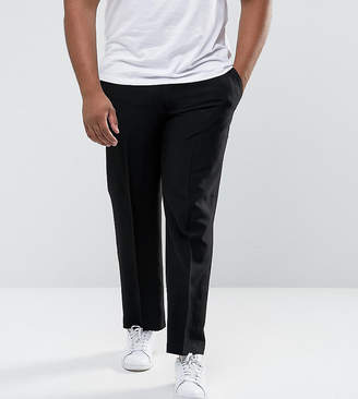 Duke Plus Regular Fit Pant With Adjustable Waist In Black