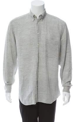 Cerruti Patterned Button-Up Shirt